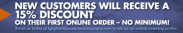 Click to browse the Susquehanna Paper & Sanitary Supply Online Ordering System